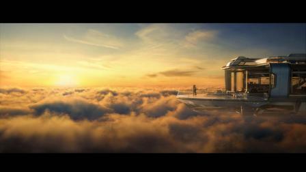 点石数码《云端之上》获cgarchitect国际建筑三维大赛最佳建筑商业广告金奖