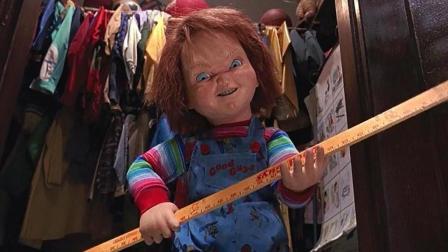三分钟看惊悚片《鬼娃回魂2》, 小娃娃越来越强大, 这次不用刀了