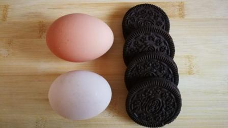 奥利奥最好吃的做法, 一个鸡蛋就搞定, 比泡牛奶都好吃