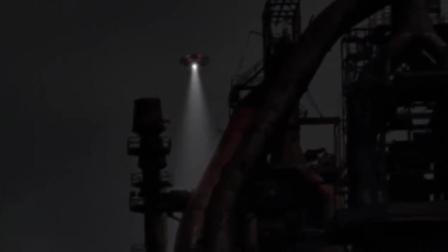 疑似UFO开到了核电厂, 在吸收能量?