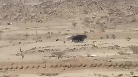 疑似ufo直接在沙漠区51区降临了 什么情况?