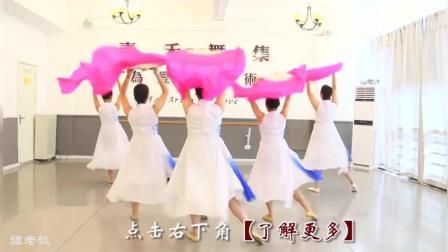 古典舞《秀色》, 汉服配上扇子, 没有舞蹈基础的也能跳