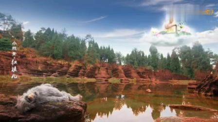 孙悟空被红孩儿的三味真火烧伤, 最后观音菩萨救了他