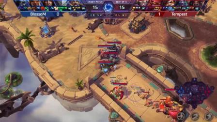 Team BlossoM vs Tempest 风暴英雄东区对决2018