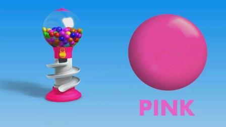 亮亮玩具学习颜色形状, 汽车动画学英语, 婴幼儿宝宝教育游戏视频844