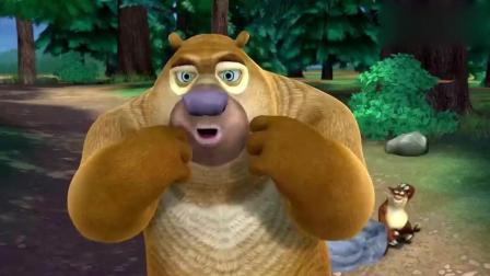 熊出没: 熊二受够了半年洗一次澡的人, 立志要做有追求的熊