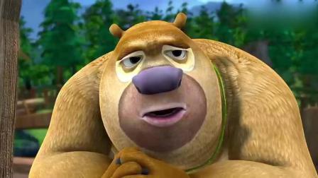 熊出没: 熊二是头有品味的熊, 喷了香水带上领带去赴约