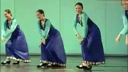 藏族舞蹈《牧羊姑娘》悠扬的乐曲配上这舞蹈, 美不胜收!