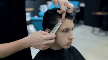 男生帅气短发潮流发型, 剪这个发型很清爽!