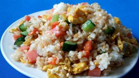 美味的蛋炒饭, 怎么做 简单又好吃?