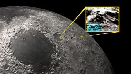 月球背面或真有外星基地, 嫦娥二号拍摄神秘建筑, 酷似基地!