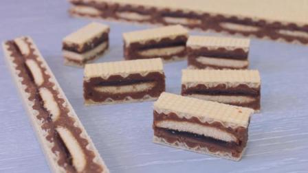 三层巧克力饼干, 休闲最好的零食