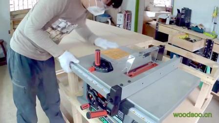 桌上型圆锯机桌面延伸改造