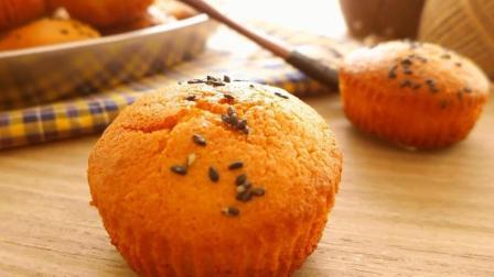 (无水蜂蜜小蛋糕)一款老少皆宜的小蛋糕, 好吃到停不下來哦