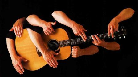 指弹吉他演奏技巧教学 原声吉他敲击技巧 第一课 拍弦
