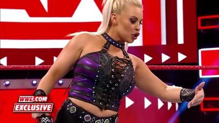 WWE: 天了噜戴娜居然勇做RAW第一个吃螃蟹的,挑战隆达罗西这段今天的直播里没有哦!