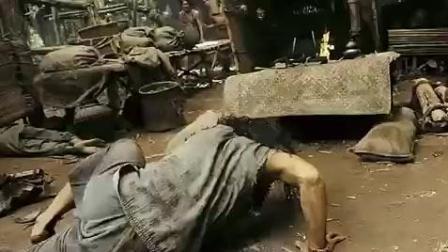 拳霸2奴隶托尼贾的打斗场面, 疯狂的泰拳打击! 简直看呆我了