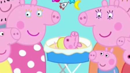 粉红猪小妹动画片, 吵闹的夜晚, 搞笑来袭精彩不断