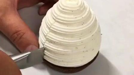 蛋糕好不好, 一刀就知道, 大师做得蛋糕里面就是不一样