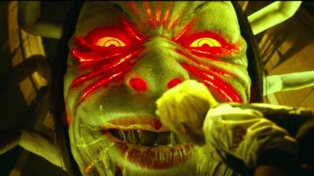 电影《彼岸岛》小伙参加日本秘密人体实验, 变成嗜血吃人恐怖怪物, 成功当上鬼王