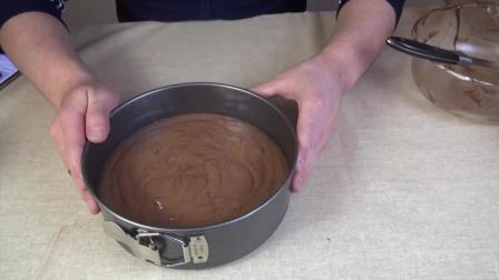 可可戚风蛋糕, 甜点大师教我的诀窍, 现在分享给你, 看完再也不用出去买蛋糕了