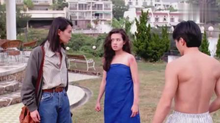 看星爷这部电影有没有发现, 李丽珍比张曼玉漂亮很多啊!