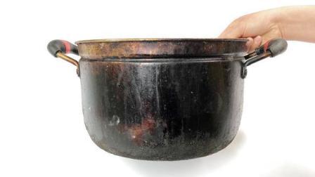 锅底黑垢难清除? 用这个除垢小窍门, 多厚的黑垢都能一招去除
