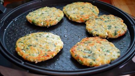 面食最简单的早餐饼新做法, 不揉面, 不发面, 轻松解决一家人早餐