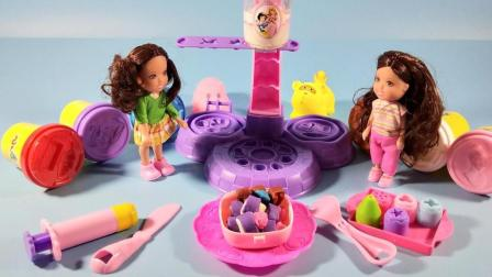 灵犀小乐园之美食小能手 芭比娃娃制作紫菜饭团 芭比娃娃制作紫菜饭团