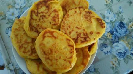 教你早餐玉米饼的家常做法, 掌握玉米面这种做法, 吃着比肉还香