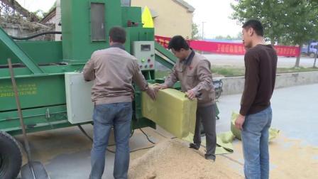 下岗小伙自己在家搞发明, 用3年造出物料压块机, 碎稻壳1分钟成块