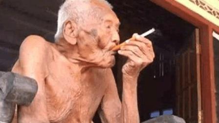 """世界最长寿老人, 烟不离手! 146岁时说""""活够了"""", 选择绝食饿死"""