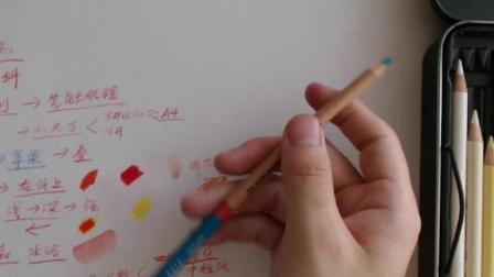 彩铅基础入门2-油性与水溶性的区别