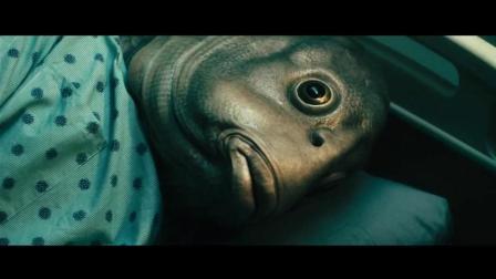 突然变异: 朴久参与医药实验导致基因变异, 变成了半人半鱼, 好吓人