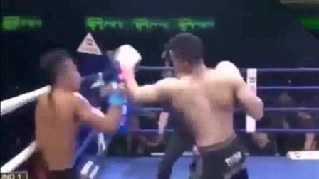 曾KO过一龙, 排名第一的西提猜竟被一拳KO, 毫无还手之力