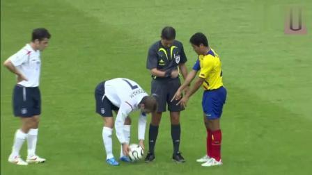 贝克汉姆在世界杯上最后一个圆月弯刀的进球, 怀念贝氏弧线!