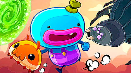 【小熙解说】回家大作战 香肠嘴小怪物为救回外星毛毛虫开始冒险!