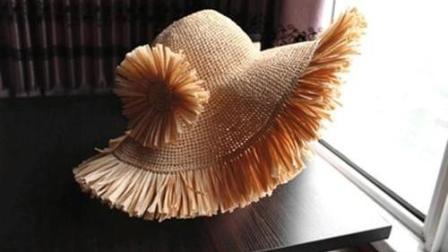 第72集醉美织城手工坊流苏款棉草沙滩帽编织教程各种编法