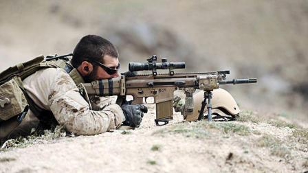 吃鸡游戏中最火的步枪, SCAR突击步枪在现实中是什么样的?