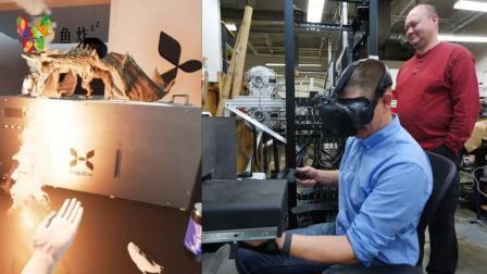 最强体感的VR游戏, 连游戏里面的龙喷火吐冰都能体验到