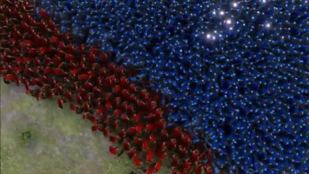战争模拟器 1万重骑士大战2000斯巴达, 这场面显卡都烧了