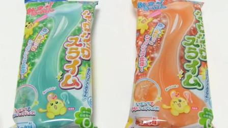 【喵博搬运】【日本食玩-可食】可以吃的变色史莱姆(●´▽`●)