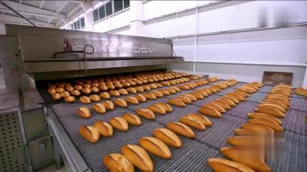 带你看看大型自动化面包加工厂和小作坊有什么不同