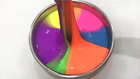 【喵博搬运】【异常满足系列】铁盆黑手教你做彩虹光泽史莱姆ヽ(•̀ω•́ )ゝ