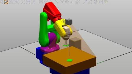 12_ABB工业机器人运动仿真—虚拟视觉系统