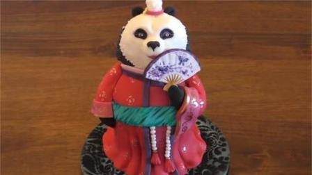 原来这个功夫熊猫玩偶是翻糖蛋糕做的, 不敢相信这是真的