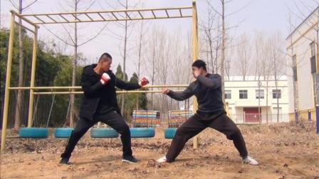 虎形拳PK自由搏击, 拳拳到肉