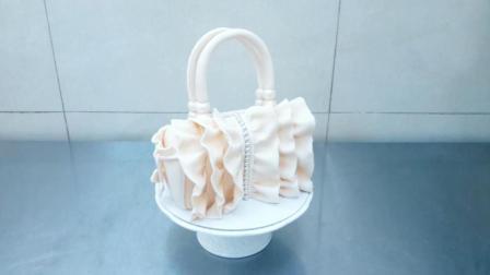 漂亮的包包居然是翻糖蛋糕做的, 学会这个每天都换新包包