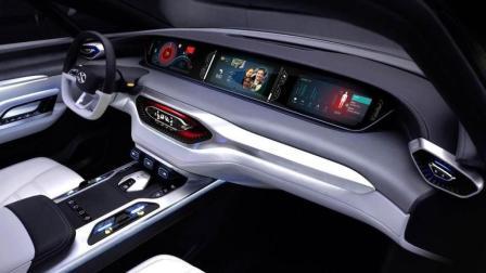 没买车的可以考虑它! 全新SUV中控全是屏幕, 比宝马霸气, 似白菜价