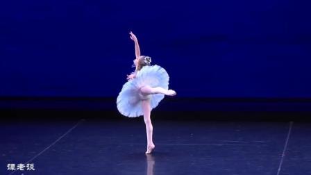 八岁萝莉跳《睡美人》, 这样的芭蕾舞请给我来一打, 萌宝宝太可爱